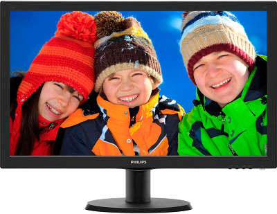 "Монитор 23.6"" Philips 243V5LAB (00/01) черный"
