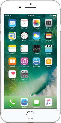 Смартфон Apple iPhone 7 Plus [MN4X2RU/A] 256 GB silver