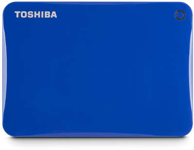 Внешний диск 2 ТБ Toshiba Canvio Connect II USB 3.0, Blue [HDTC820EL3CA]