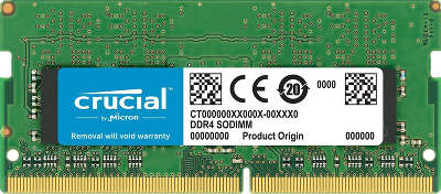 Модуль памяти DDR4 SODIMM 8Gb DDR2400 Crucial (CT8G4S24AM)