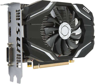 Видеокарта MSI nVidia GeForce GTX1050 2Gb DDR5 PCI-E DVI, HDMI, DP