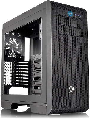 Корпус Thermaltake Core V51 Black w/o PSU,Window,CA-1C6-00M1WN-00