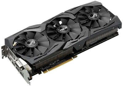 Видеокарта PCI-E NVIDIA GeForce GTX1070 8096MB DDR5 Asus [STRIX-GTX1070-O8G-GAMING]
