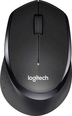 Мышь беспроводная Logitech Wireless Mouse M330 SILENT PLUS - BLACK USB (910-004909)
