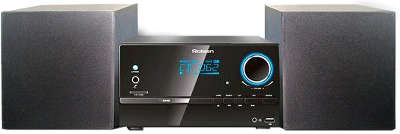 Микросистема Rolsen RMD-320 черный 30Вт/CD/DVD/FM/USB/SD/MMC/MS