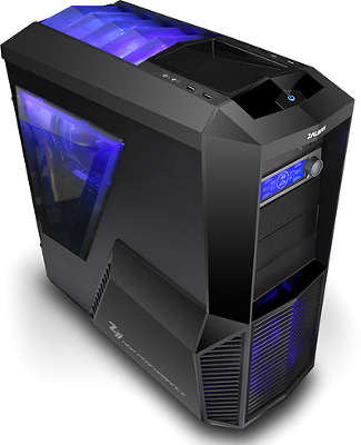 Корпус midiATX 2.03 ZALMAN Z11 PLUS чёрный (без б,п)