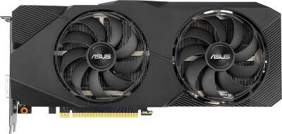 Видеокарта ASUS nVidia GeForce RTX 2070 Dual Advanced EVO 8Gb GDDR6 PCI-E DVI, 2HDMI, 2DP