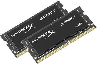 Набор памяти SO-DIMM DDR4 2*8192Mb DDR2400 Kingston HyperX Impact [HX424S14IBK2/16]