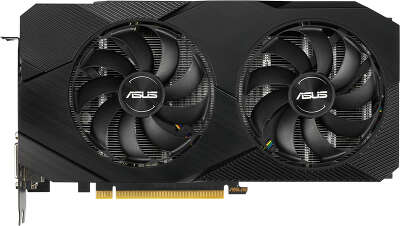 Видеокарта ASUS nVidia GeForce RTX 2060 Dual Advanced EVO 6Gb GDDR6 PCI-E DVI, 2HDMI, DP