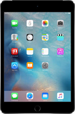 Планшетный компьютер Apple iPad mini 4 [MK762RU/A] 128GB Wi-Fi + Cell Space Gray