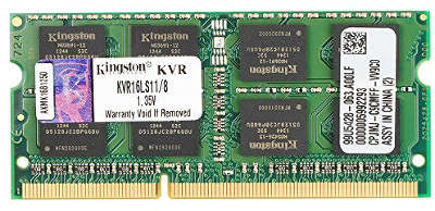 Модуль памяти SO-DIMM DDR-III 8192 Mb DDR1600 Kingston KVR16LS11/8  1.35V