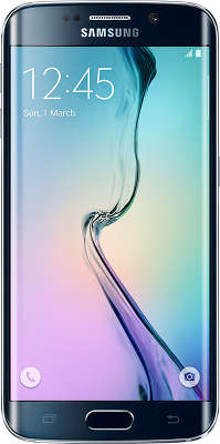Смартфон Samsung SM-G925 Galaxy S6 Edge 128Gb, чёрный сапфир