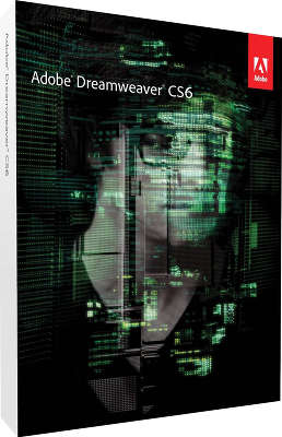 Пакет ПО Adobe Dreamweaver CS6 12 Retail Russian Windows
