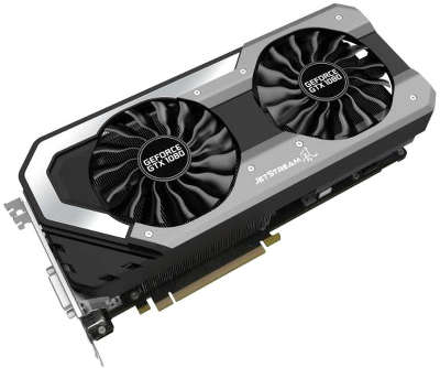 Видеокарта Palit PCI-E PA-GTX1080 Super Jetstream 8G nVidia GeForce GTX 1080 8192Mb GDDR5X