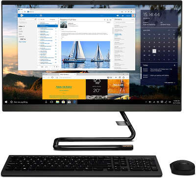 "Моноблок Lenovo IdeaCentre A340-22ICB 21.5"" FHD i5-8400T/8/1000/128 SSD/R 530 2G/Multi/WF/BT/Cam/Kb+Mouse/DOS"