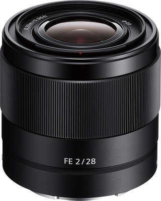 Объектив Sony FE 28 мм f/2.0 [SEL-28F20]
