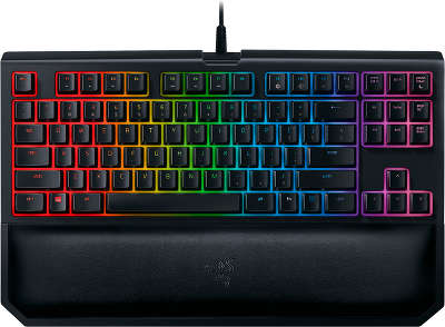 Клавиатура Razer BlackWidow Tournament Chroma V2 (Orange Switch)