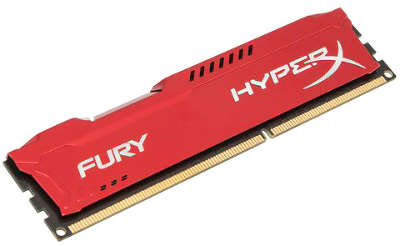 Модуль памяти DDR-III DIMM 4096Mb DDR1600 Kingston HyperX Fury Red [HX316C10FR/<wbr>4]