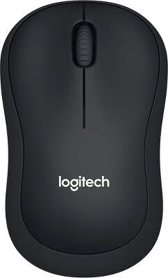 Мышь беспроводная Logitech Wireless Mouse B220 SILENT - BLACK USB (910-004881)