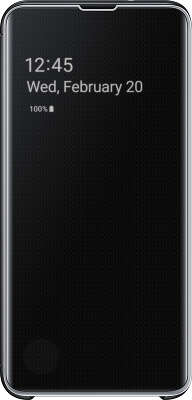 Чехол Samsung для Samsung Galaxy S10e Clear View Cover, Black (EF-ZG970CBEGRU)