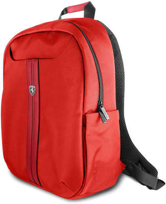 Рюкзак Ferrari для ноутбуков 15'' Urban Backpack Nylon/PU, Red [FEURBPS15RE]
