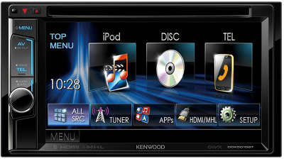 Автомагнитола CD DVD Kenwood DDX-5016BTR
