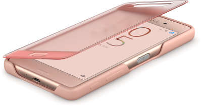 Чехол Sony Style Cover Touch SCR56 для Xperia X Performance, Rose Gold