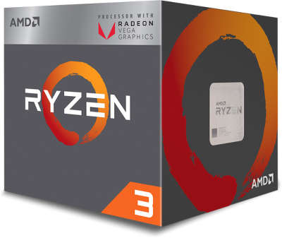 Процессор AMD RYZEN 3 2200G (3.7GHz) AM4 BOX