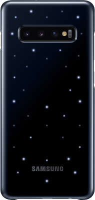 Чехол Samsung для Samsung Galaxy S10+ LED Cover, Black (EF-KG975CBEGRU)
