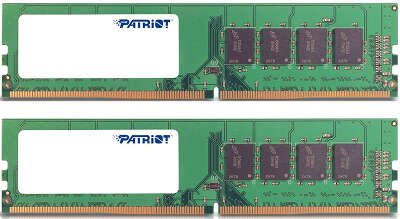 Набор памяти DDR4 DIMM 2x8Gb DDR2400 Patriot (PSD416G2400K)
