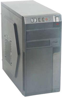 Корпус Formula FM-608 черный 450W mATX 2x120mm 2xUSB2.0