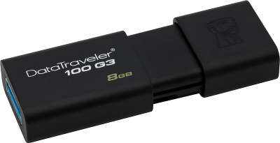 Модуль памяти USB3.0 Kingston DT100G3 8 Гб [DT100G3/8GB]