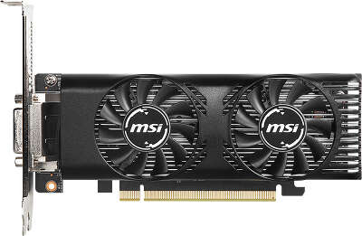 Видеокарта MSI nVidia GeForce GTX1650 LP 4Gb DDR5 PCI-E DVI, HDMI, DP