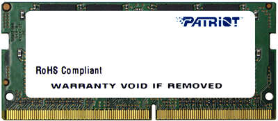Модуль памяти SO-DIMM DDR4 16384Mb DDR2666 PATRIOT Patriot Signature Line (PSD416G26662S)
