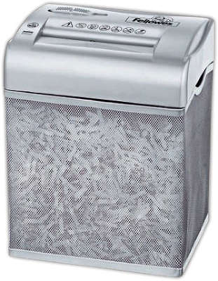 Уничтожитель Fellowes PowerShred Shredmate CRC-37005 (секр.P-4)/фрагменты/4лист./4.5лтр./скобы/пл.карты