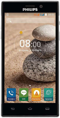 Смартфон Philips V787 Dual Sim, Black