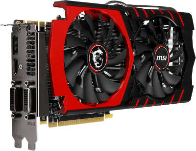 Видеокарта PCI-E NVIDIA GeForce GTX970 Gaming 4096MB DDR5 MSI [GTX 970 Gaming 4G]