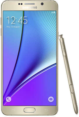 Смартфон Samsung SM-N920 Galaxy Note 5 64Gb, ослепительная платина
