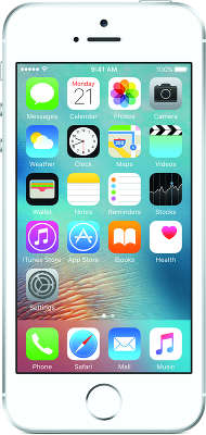 Смартфон Apple iPhone SE [MLLP2RU/A] 16 GB silver