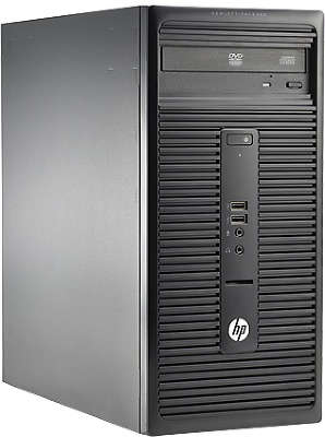 Компьютер HP 280 G1 MT P G3250 (3.2)/2Gb/500Gb/HDG/DVDRW/W7P/Kb+Mouse