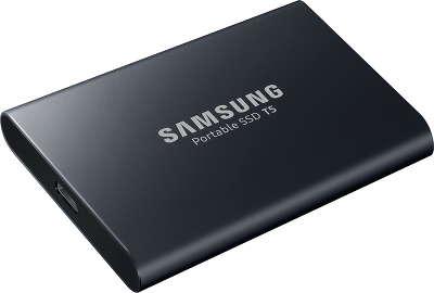 Твердотельный накопитель SSD Samsung USB 1TB [MU-PA1T0B/WW] | купить портативный накопитель Samsung Portable SSD T5 MU-PA1T0B MU-PA1T0B/WW в интернет-магазине ТехноСити Новосибирск