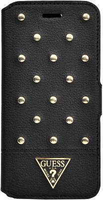 Чехол для iPhone 6 Plus/6S Plus Guess Tessi Booktype, Black [GUFLBKP6LSTB]