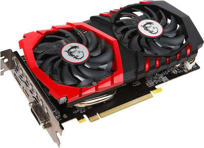 Видеокарта PCI-E NVIDIA GeForce GTX1050Ti Gaming X 4096MB DDR5 MSI [GTX 1050 Ti GAMING X 4G]
