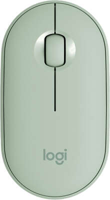 Мышь беспроводная Logitech Wireless Mouse M350 Eucalyptus 2.4GHZ/BT (910-005720)