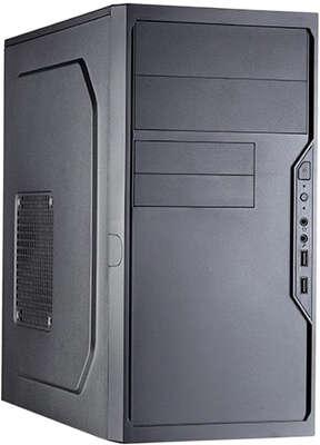 Корпус Foxline FL-733R, черный, mATX, 450W (FL-733R-FZ450R-U32C)