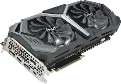 Видеокарта Palit nVidia GeForce RTX 2080 GameRock Premium 8Gb GDDR6 PCI-E HDMI, 3DP