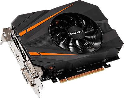 Видеокарта Gigabyte PCI-E GV-N1070IXOC-8GD nVidia GeForce GTX 1070 8192Mb GDDR5
