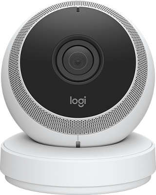 WEB-камера Logitech Circle Portable Home Connection Camera - White (961-000401)