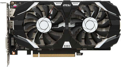 Видеокарта MSI nVidia GeForce GTX1050Ti 4GT OCV1 4Gb DDR5 PCI-E DVI, HDMI, DP