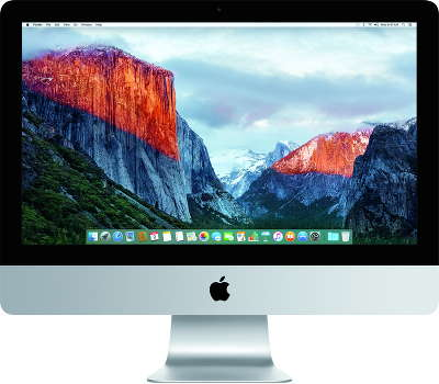 "Компьютер Apple iMac 4K 21.5"" Z0RS0020N (i7 3.3 / 16 / 256 GB SSD / Intel HD Graphics 6200)"